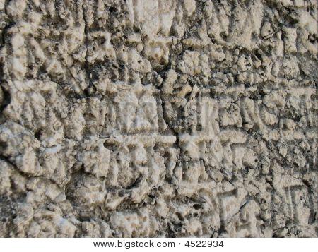 Antique Greek Inscription