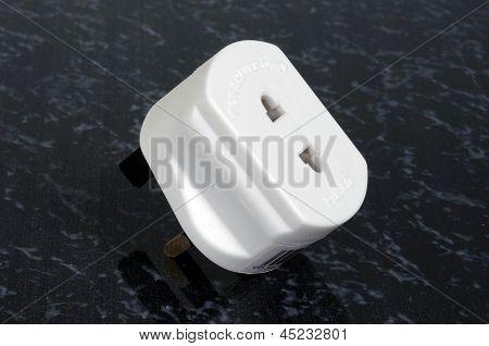 English shaver adaptor.