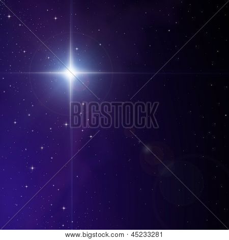 Star in Nebula