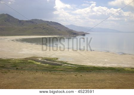 Antelope Island Lake Shore