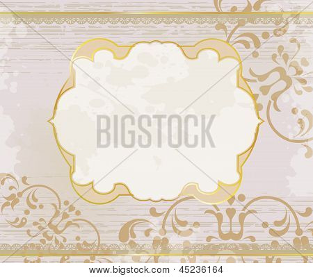 Lucid Gold Frame Background