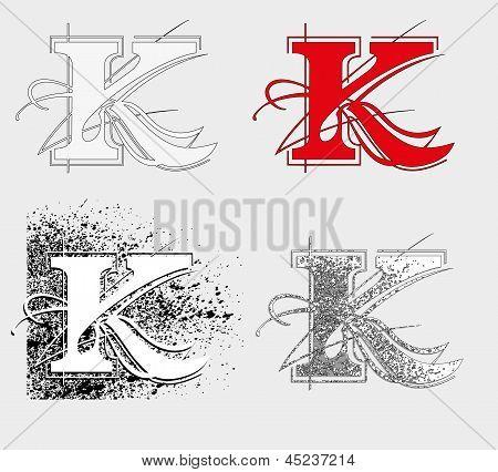 símbolo K