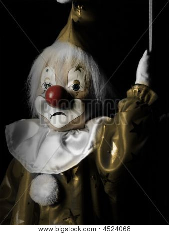 Sad Marionette Clown