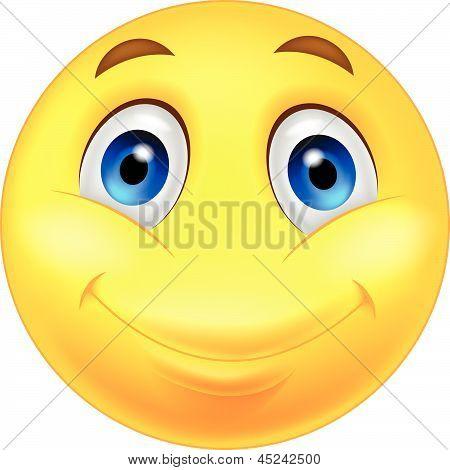 Happy smiley cartoon