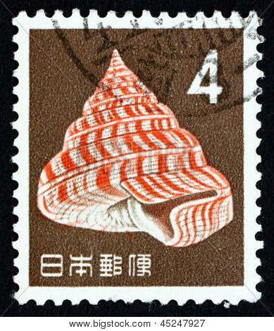 Postage Stamp Japan 1963 Emperor's Slit Shell, Sea Snail