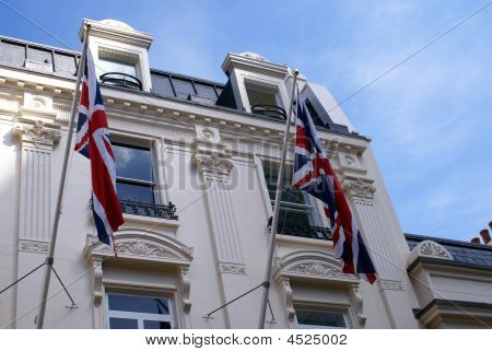 Flags Of England. Union Jack Flag