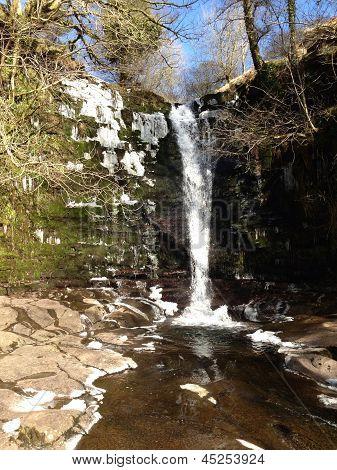 Talybont water falls