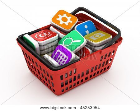 Concept application software store
