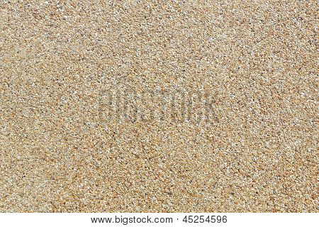Rough Gravel Floor