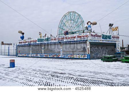 Snowey Coney Island