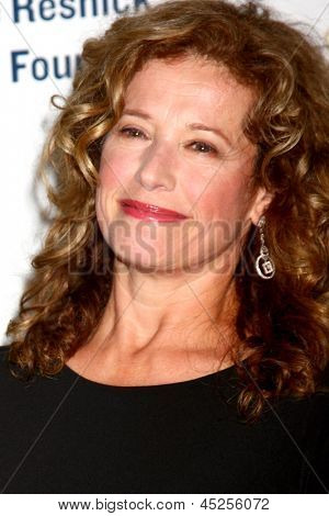 """LOS ANGELES - MAY 6:  Nancy Travis arrives at the 2013 Midnight Mission's """"Golden Heart Awards"""" at the Beverly Wilshire Hotel on May 6, 2013 in Beverly Hills, CA"""