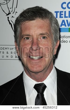 LOS ANGELES - APR 10: Tom Bergeron at the Academy of Television Arts & Sciences celebration of the 31st Annual College Television Awards in Los Angeles, California on April 10, 2010.