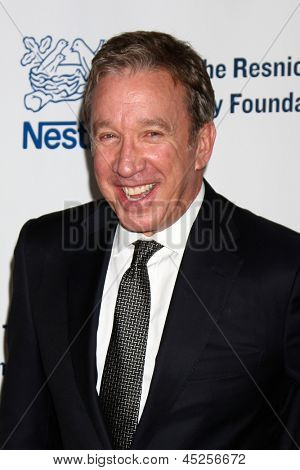 """LOS ANGELES - MAY 6:  Tim Allen arrives at the 2013 Midnight Mission's """"Golden Heart Awards"""" at the Beverly Wilshire Hotel on May 6, 2013 in Beverly Hills, CA"""