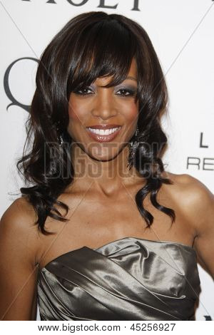 LOS ANGELES - MAR 4: Shaun Robinson at the 3rd annual Essence Black Women in Hollywood Luncheon at the Beverly Hills Hotel in Beverly Hills, California on March 4, 2010
