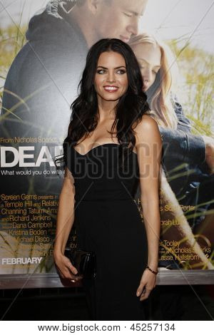 LOS ANGELES - FEB 1: Jenna Dewan arrives at the premiere of 'Dear John' held at the Grauman's Chinese Theater in Los Angeles, California on February 1, 2010