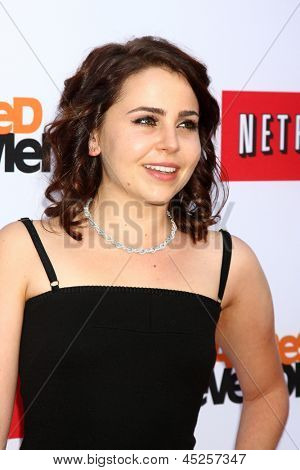 LOS ANGELES - APR 29:  Mae Whitman arrives at the
