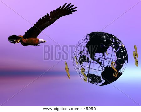 Eagle And Dollar World.