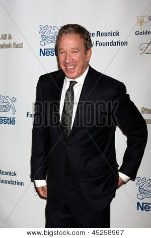 LOS ANGELES - MAY 6:  Tim Allen arrives at the 2013 Midnight Mission's