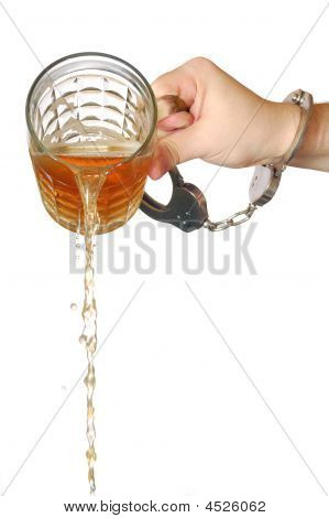 Pouring Beer Away