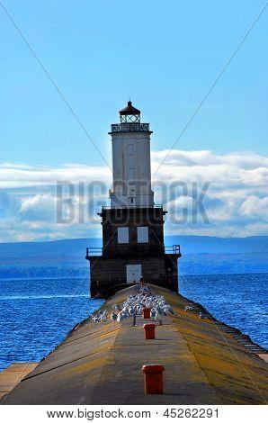 Breakwater Pier To Lighthouse