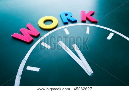 Time For Work Concept