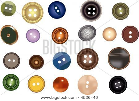 Many Buttons Vector