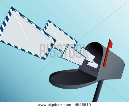Mail Box Vector