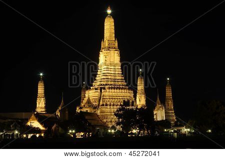 Wat Arun the Temple of Dawn Bangkok Thailand