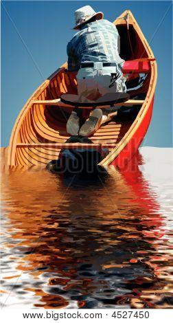 Inundações de canoa