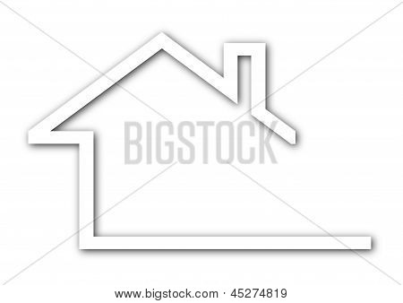house with a gable roof