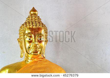 Thai Golden Buddha Statue