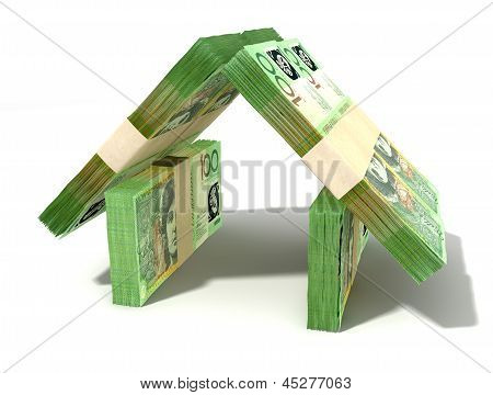 Australian Dollar Notes House Perspective