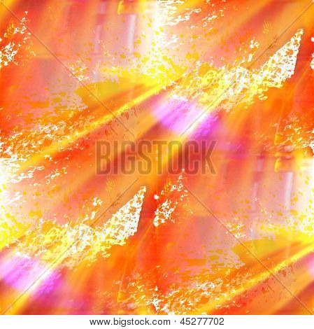 color seamless art background yellow, orange watercolor water te