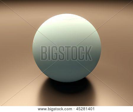 Planet Uranus Blank