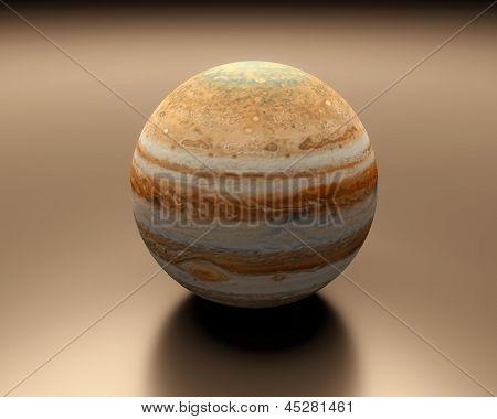 Planet Jupiter Blank