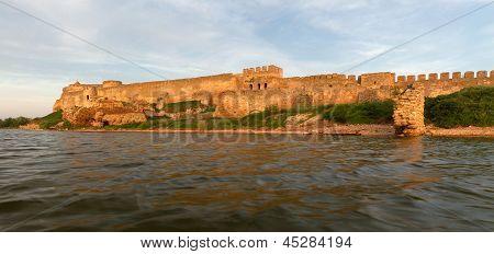 Old Fortress In Town Bilhorod-dnistrovsk I Odessa Region