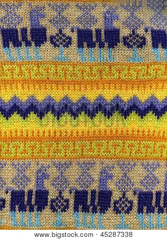 Peruan Woollen Cloth