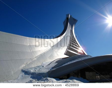 The Olympic Stadium In Montreal