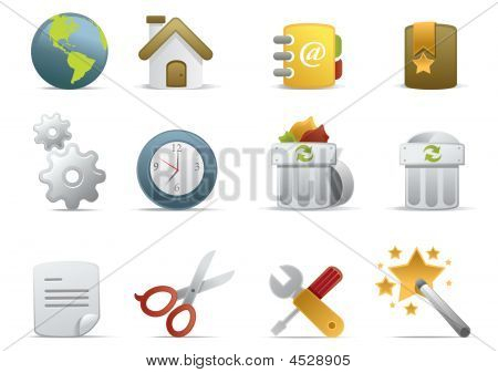 Web Icons  Novica Series