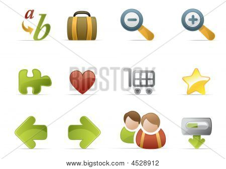 Web Icons-Novica Serie
