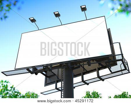 Blank Billboard.