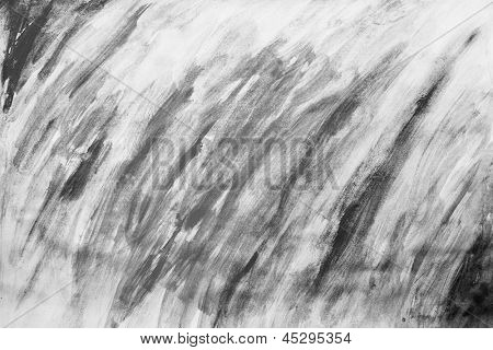 Black and white painting pattern, drawn manually. Godd for background, templates