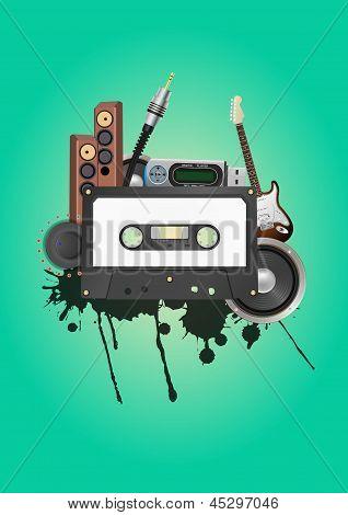 Cassette Audio Device