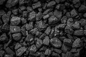 picture of charcoal  - A Pile Of Coal From Mining Pit - JPG