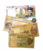 Bank Of Central African States Currency And Coinage poster
