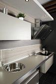 Brand New Modern Kitchen poster