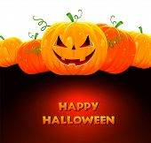 picture of funny ghost  - Vector illustration of Halloween pumpkin eps 10 - JPG