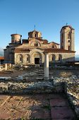 Saint Panteleimon monastery situated on Plaosnik in Old Ohrid, Republic of Macedonia
