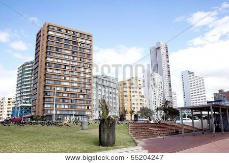 Residential Complexes On Durbans Golden Mile Beachfront
