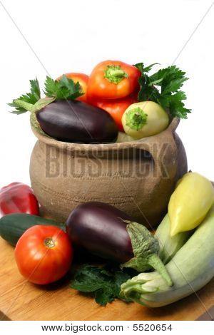 frische Bio-Gemüse